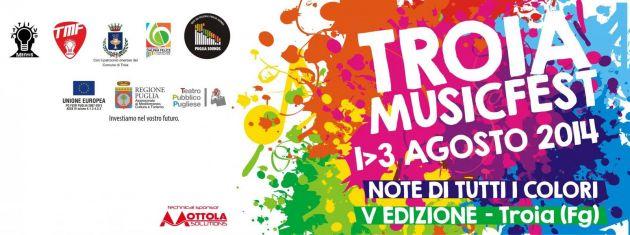 """Puglia. Dall'1 al 3 agosto il """"Troia Music Fest"""""""