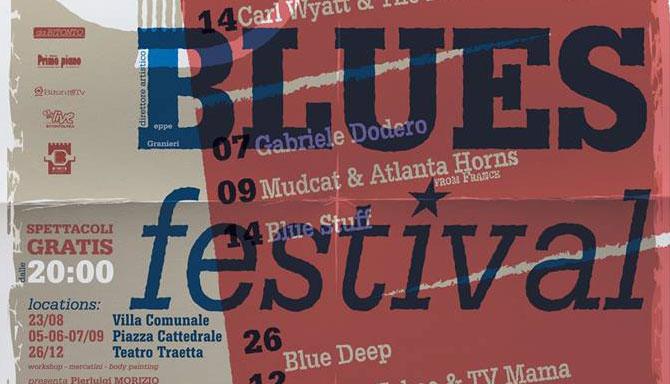 Dal 23 agosto torna il Bitonto Blues Festival