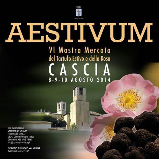 Perugia, dall'8 al 10 agosto la mostra mercato del tartufo e della rosa di Cascia