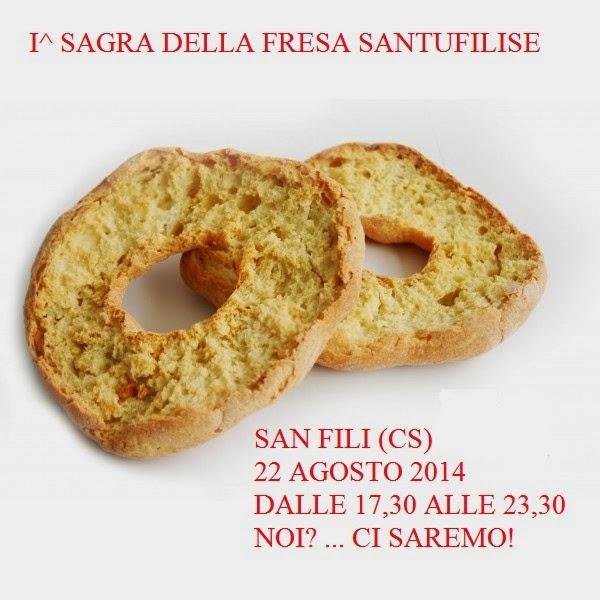 Calabria. A San Fili la Sagra della fresa santufilise