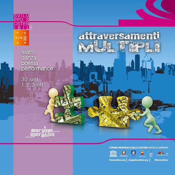 Teatro, danza, poesia, performance: a Napoli Attraversamenti Multipli 2014