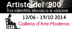 ARTISTE DEL '900: TRA VISIONE E IDENTITA' EBRAICA