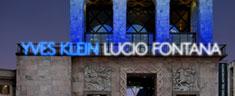 Milano: al Museo del Novecento una mostra su Klein e Fontana