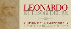 """A Torino la mostra """"Leonardo e i Tesori del Re"""""""