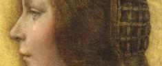 """Urbino: esposto per la prima volta la """"Bella Principessa"""" di Leonardo."""
