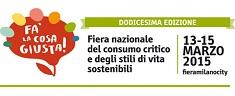 Fa' la cosa giusta! A Milano la fiera sul consumo critico