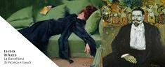 """La Rosa di Fuoco"""": a Ferrara una mostra racconta il fervore artistico di Picasso e Gaudí."""