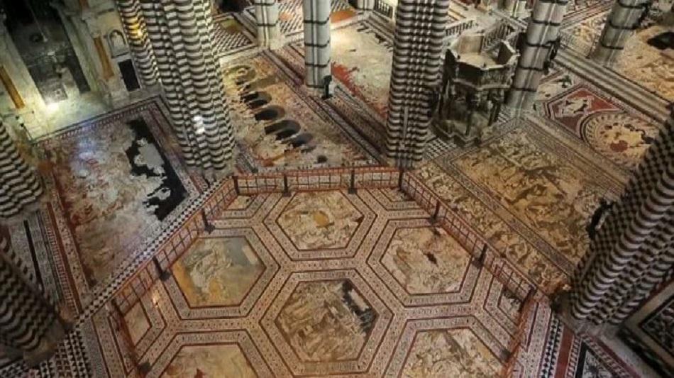 """Duomo di Siena: a luglio il pavimento si """"riscopre"""""""