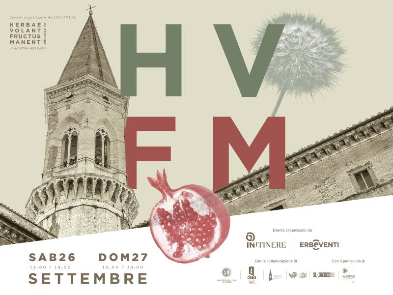 "Perugia: la natura in mostra a ""Herbae Volant, Fructus Manent"""